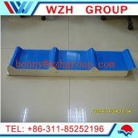Quality 50mm thick PU roof panel and wall panel / sandwich panel price per m2 wholesale