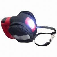Quality Flashlight Retractable Pet Leash with Bag Set, Reflective Belt for Night Use, Portable Bag wholesale