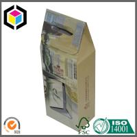 China Two Bottle Wine Corrugated Packaging Box; Gable Wine Packaging Box on sale