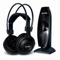 Quality UHF Comfortable Wearing 2.4GHz Wireless Stereo Headphones with 100m Operating Distance wholesale