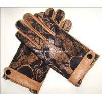 Quality 2012 Fashion Dress Leather Gloves with Lace Back (CF3804B) wholesale