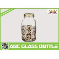Quality High quality clear 32oz glass mason jar for storage wholesale