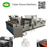 Quality High speed automatic perforating rewinding toilet paper making machine wholesale