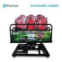 Quality Professional 7D 9D Movie Theater Simulator For 8 / 9 / 12  Players wholesale