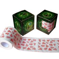 Quality 2ply  250 sheets  christmas printed toilet paper 100% virgin pulp novelty toilet roll wholesale