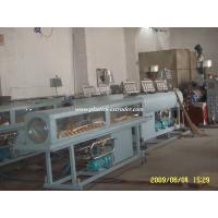 Quality Health Drinking Water PVC Pipe Manufacturing Plant , Pipe Extrusion Machine wholesale