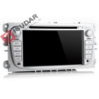 Quality Silver 2 Din Car Dvd Player Ford Mondeo Head Unit With 3G Back - Up Camera wholesale