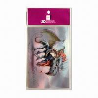 Quality 3D Lenticular Post Card, Wonderful 3D Depth Designs, Color More Fresh and Clear wholesale