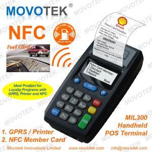 Movotek rfid terminal for Fuel Card, Membership Card, Gift Card, Game Card