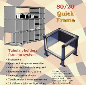 Cheap Rectangle, square tube aluminium shelf brackets aluminum shelves for storage/ for sale