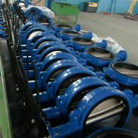 Quality Lugged Ductile Iron DI CI GGG40 EPDM/PTFE Center Lined Body LINED BUTTERFLY VALVE Gear wholesale