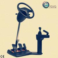 China Portable Driving Simulator Made Of ABS+Iron Materials on sale