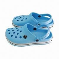 Quality Garden Shoes with High Performance and European Union Standard, Available in Light Blue wholesale