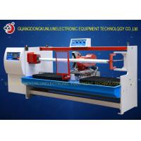 Quality Professional Thermal Paper Roll / Jumbo Roll Cutting Machine PLC Touch Screen Control wholesale