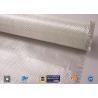 Buy cheap White Fiberglass Fabric , E - Glass Plain Weaven Woven Roving Fiberglass Roll from wholesalers