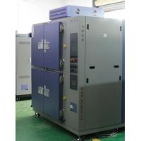 China 500L 2 - Zone Stainless Steel Thermal Shock Test Chamber With A Protective Device on sale