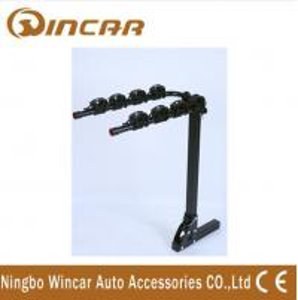 Quality 4 Bike Rear Mounted Car Bike Carrier Iron Hitch 50 x 50 x 3mm wholesale