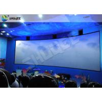 Quality Animation 9D Movie Theater Stimulating 9D Cinema System With Curve Screen wholesale