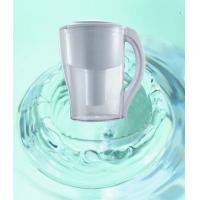 Quality Household Pre-Filtration Water Purification Pitcher , Fluoride Water Filter Jug AS Material wholesale