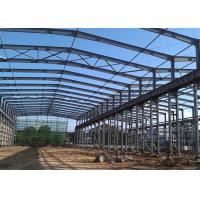 Buy cheap Large Span Steel Structure Workshop Building Warehouse Foundation Construction from wholesalers