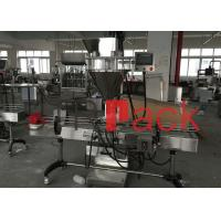 Quality Auger type powder filling machine with PLC , Touch screen and weighing module control wholesale