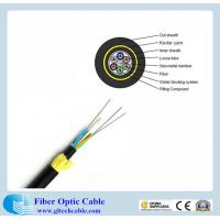 China Double PE  jacket  single mode fibre core 24-core G652D All-Dielectric self-supporting (ADSS)  fibre optic cable tender on sale
