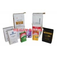 China Square Bottom Recyclable Multiwall Kraft Paper Bags With Customizable Valve on sale