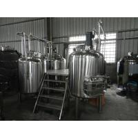 Quality 500L steam beer brewing equipment beer production line for pub and restaurant equipment wholesale