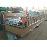 686 & 762 IBR and Corrugated Profile Roll Forming Machine / Metal Roofing Equipment