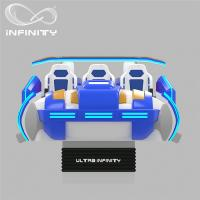 Quality Multi - Player 9D Virtual Reality Cinema Motion Simulator Logo Customization wholesale