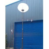 China 6m portable light tower winch up telescopic mast lighting tower-ground mounting tripod LED lamp head on sale