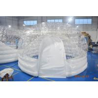 Quality 4.5m Diameter Transparent Airtight  Tent /  Inflatable Dome Bubble Tent For Trade Show wholesale