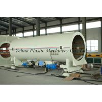 Buy cheap hdpe pe heat insulation pipe extrusion line production machine fabrication for from wholesalers