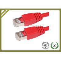 China Cat6 UTP Network Patch Cord RJ 45 Connection Pure Copper PE Jacket on sale