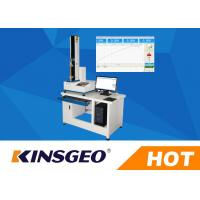 Quality Digital Peel Adhesion Test Equipment , 180 / 90 Degrees Peel Strength Tester With Adhesive Tape 5KN wholesale