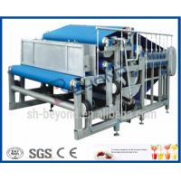 China Industrial Juice Extractor Fruit Processing Equipment For Fruit Juice Production on sale