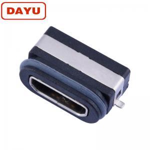 China IP66 68 Waterproof Mini Usb Female Connector 5 Pin Jack Mini USB Micro Socket on sale