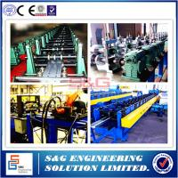 Quality Steel Stud Roll Forming Machine Guiding Column Structure , Arch Sheet Roll Forming Machine wholesale