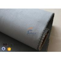 Quality Grey Silicone Coated Fiberglass Fabric 47OZ 1.3MM Electrical Insulating wholesale