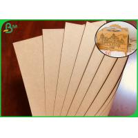 FSC Approved Brown Kraft Paper Roll For Making Cake Package Box