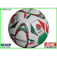 Quality Matt Leather Stitched Training Soccer Balls With Strong Rubber Bladder wholesale