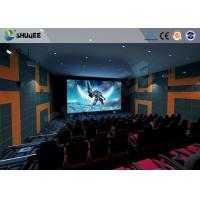 Quality 5.1 Audio System 4D Big Movie Theater With Red Standard Chair wholesale