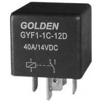 Quality General Purpose 5 Pin Automotive Relay 12V GYF HFV4 40A / 80A wholesale