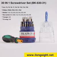 China 30 in 1 Precision Magnetic Screwdrivers Set For Cell phone,PC,hard disk Repair(Baku BK-630-31) on sale