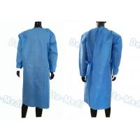 Quality Over Locking Disposable Surgical Gown Reinforced Waterproof For Surgery wholesale