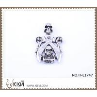 Quality Hot sell 316 Stainless Steel Death's-Head Pendant H-L1747 wholesale