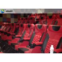 Quality High Definition 4D Cinema System With Safety Motion Chair 3D Stereo Movie wholesale