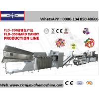 China FLD-350 Stainless Steel Made Die-Formed Hard Candy Production Line on sale