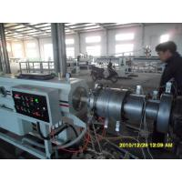 Quality PVC Spiral Steel Wire Reinforced Pipe Plastic Pipe Extrusion Line wholesale