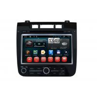 Quality VW Touareg Volkswagen GPS Navigation System Android OS DVD Player SWC BT Radio TV wholesale